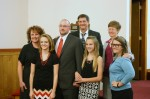 Greg and His Family and the Pastor's Family